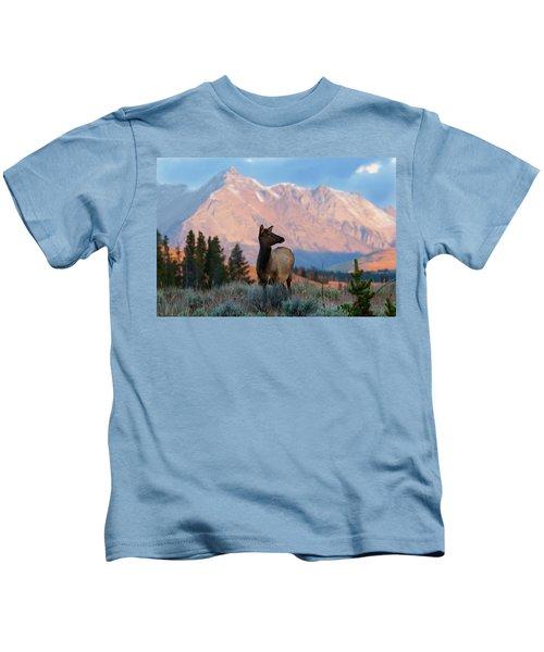 Elk Majesty Kids T-Shirt