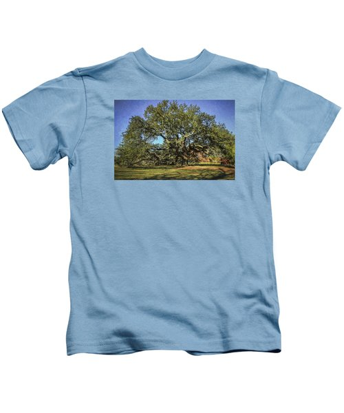 Emancipation Oak Tree Kids T-Shirt