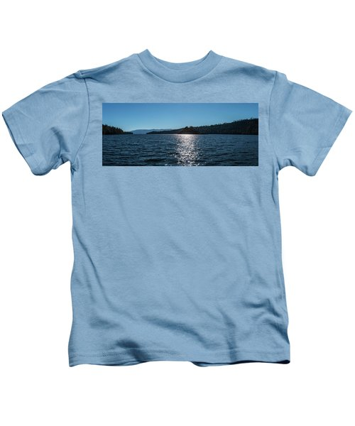 Emerald Bay - Panorama Kids T-Shirt