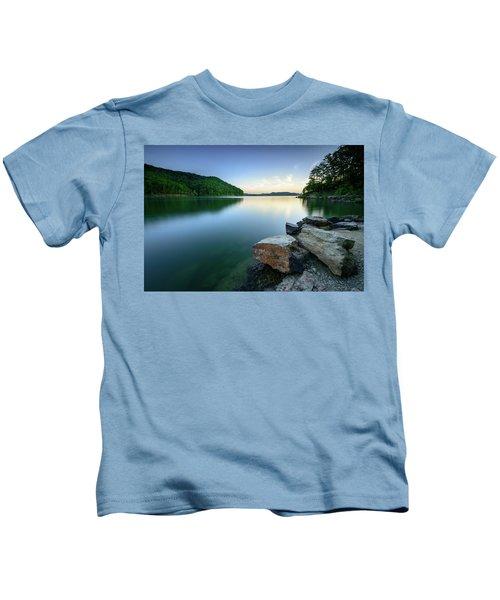 Evening Thoughts Kids T-Shirt