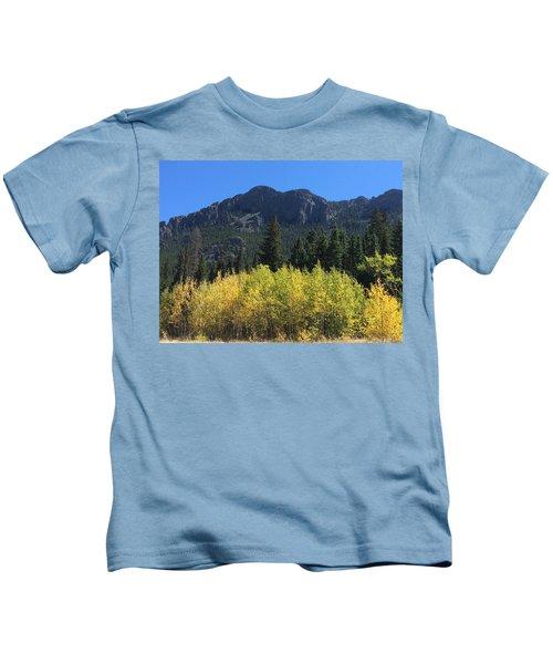 Fall At Twin Sisters Kids T-Shirt