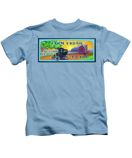 Farm Fresh To You  Kids T-Shirt
