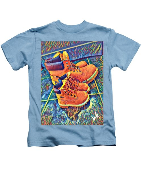 Father And Son Kids T-Shirt