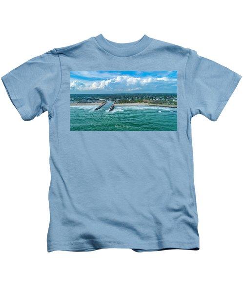 Fenway Beach, Weekapaug,ri Kids T-Shirt
