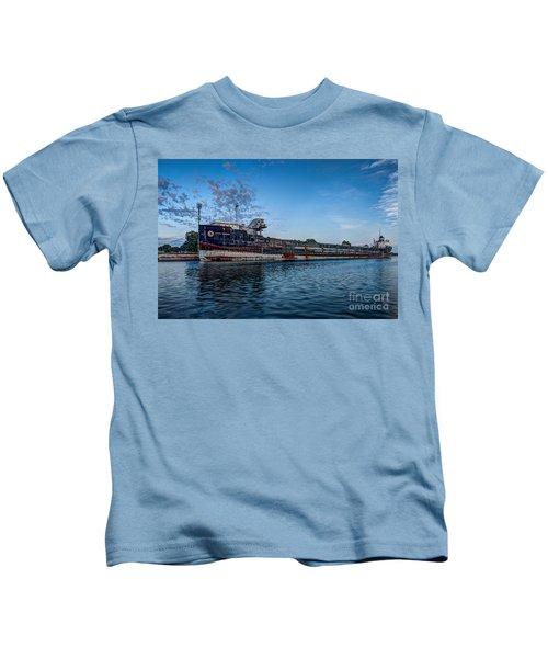 Final Mooring For The Algoma Transfer Kids T-Shirt