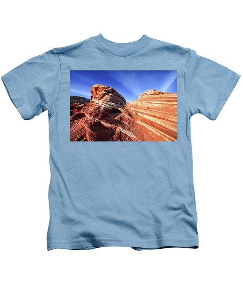 Fire Wave Kids T-Shirt