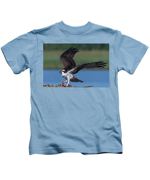 Fish For The Osprey Kids T-Shirt