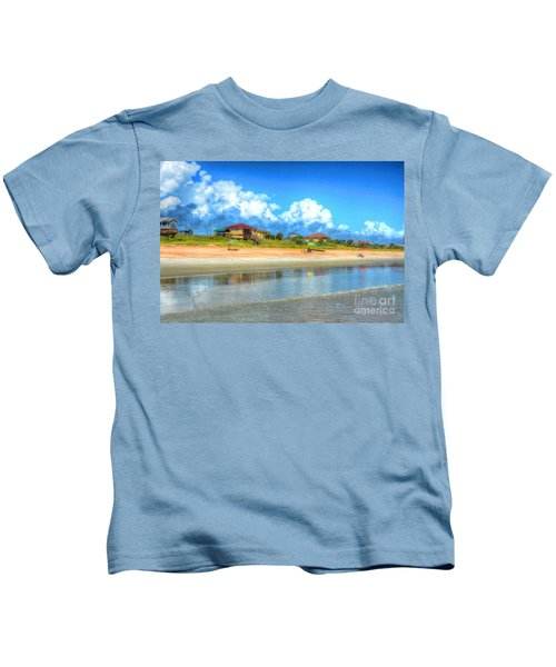 Flagler Beach Morning Kids T-Shirt