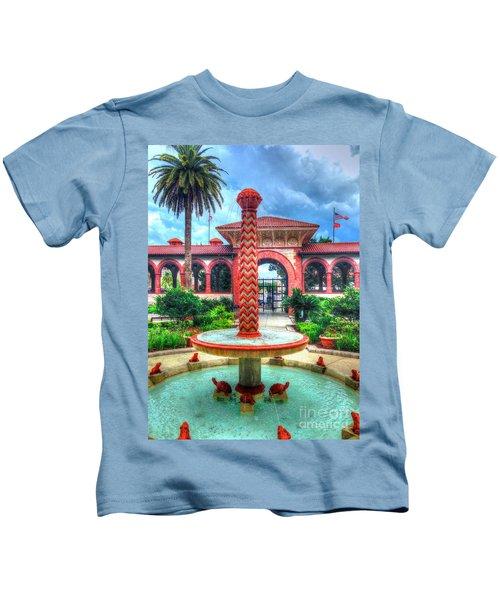 Flagler College Fountain Kids T-Shirt
