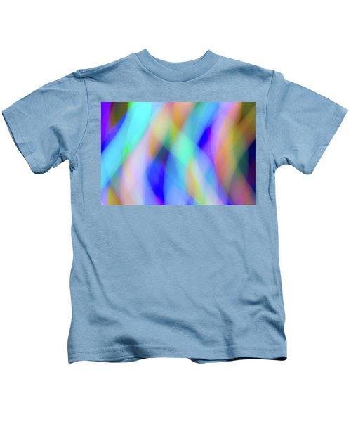 Flames Of Iridescence Kids T-Shirt