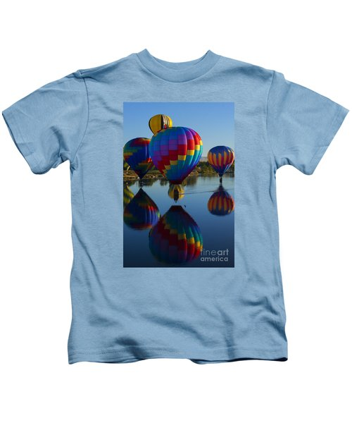 Floating Reflections Kids T-Shirt