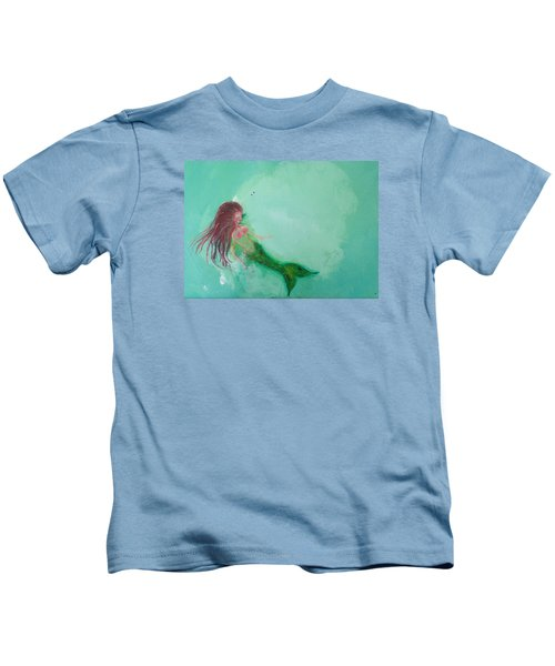 Floaty Mermaid Kids T-Shirt