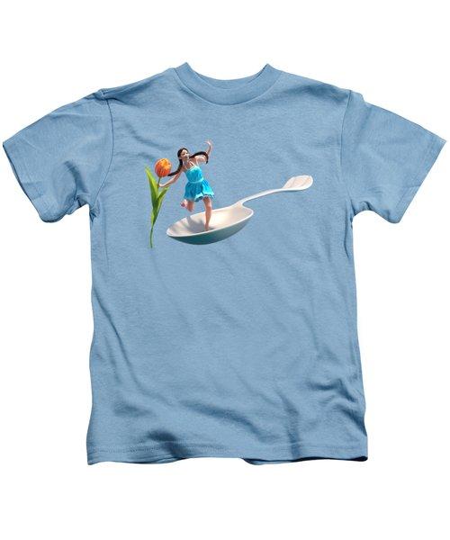 Flower Girl Kids T-Shirt