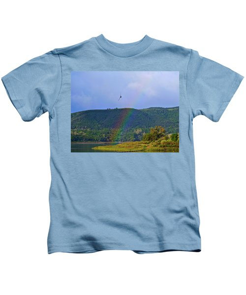 Fly Over The Rainbow Kids T-Shirt