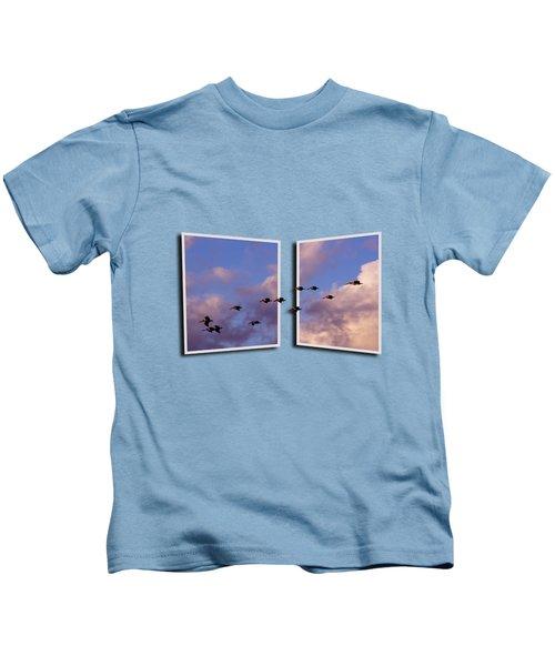Flying Across Kids T-Shirt