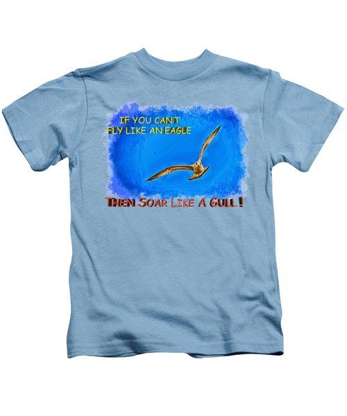 Flying Gull Kids T-Shirt