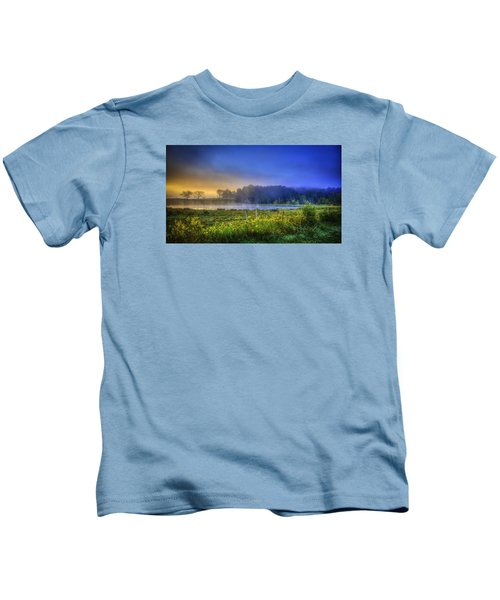 Fogy Sunrise  Kids T-Shirt
