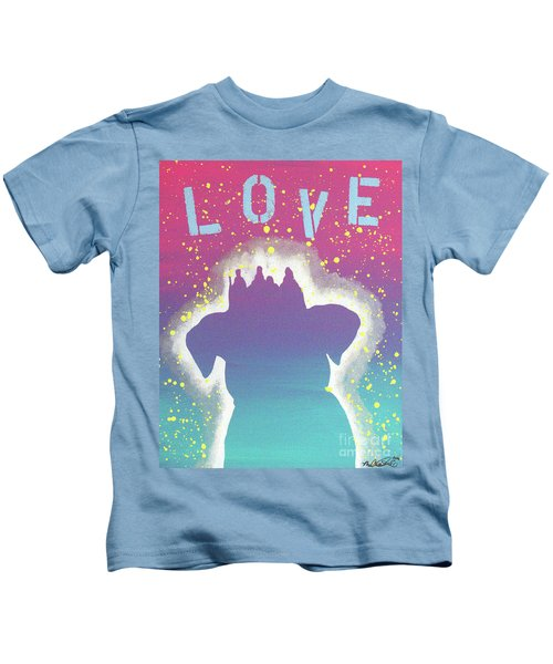 For The Love Of Pups Kids T-Shirt