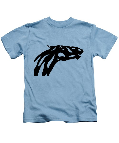 Fred - Abstract Horse Kids T-Shirt