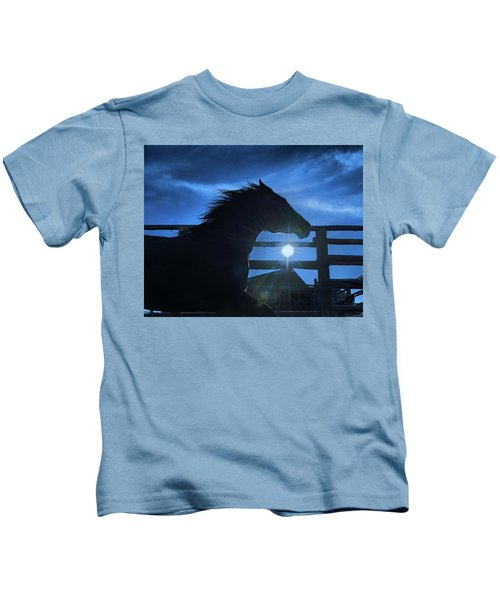 Free Spirit Horse Kids T-Shirt