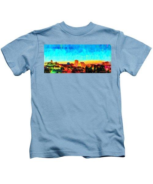 Fresno Skyline 100 - Pa Kids T-Shirt