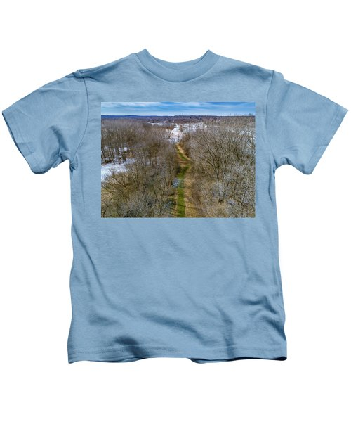 From Woods To Snow Kids T-Shirt