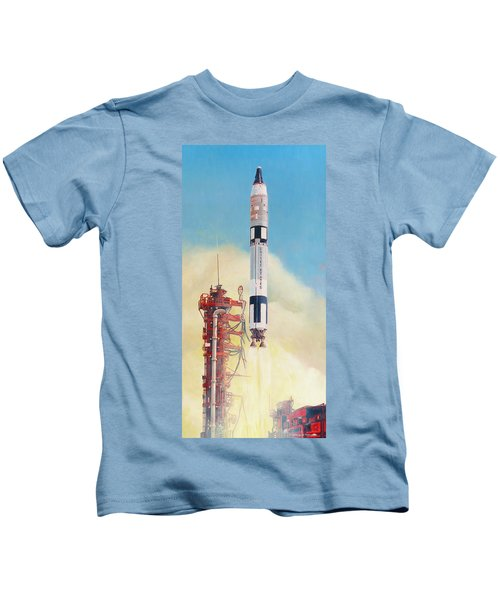 Gemini-titan Launch Kids T-Shirt