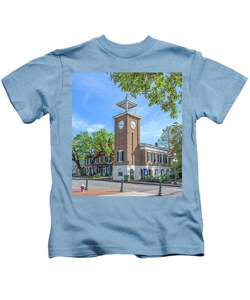 Georgetown Clock Tower Kids T-Shirt