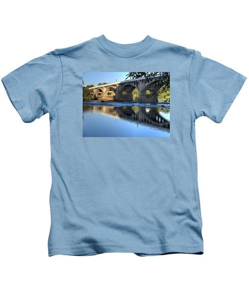 Gervais Street Bridge-1 Kids T-Shirt