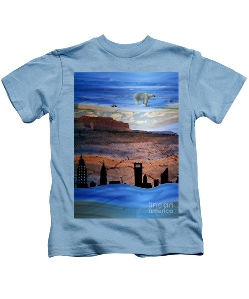 Global Care Be Aware Kids T-Shirt