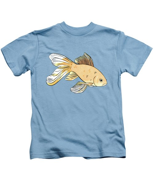 Glum Goldfish Kids T-Shirt