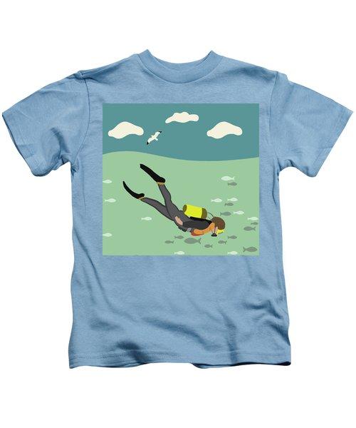 Going Deep Kids T-Shirt