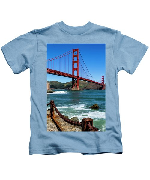 Golden Gate Bridge From Fort Point Kids T-Shirt