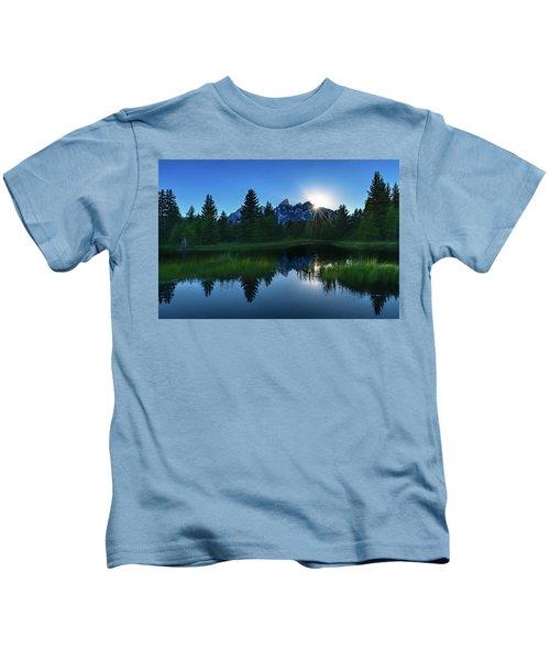 Grand Tetons Kids T-Shirt