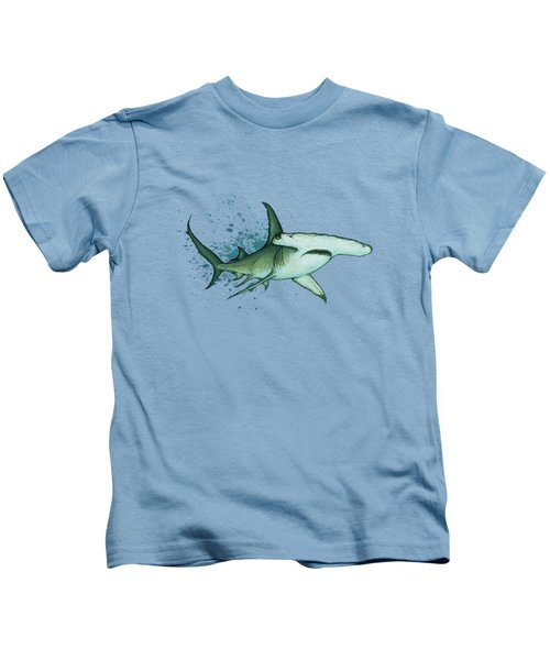 Great Hammerhead Shark  Kids T-Shirt