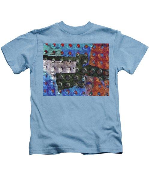 Gridiron Horn Kids T-Shirt