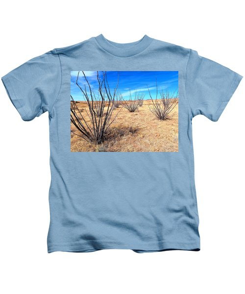 Ground Level - New Mexico Kids T-Shirt
