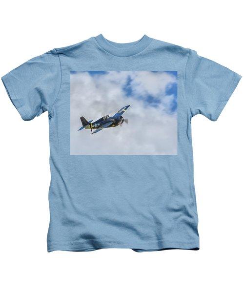 Grumman F4f Wildcat Kids T-Shirt