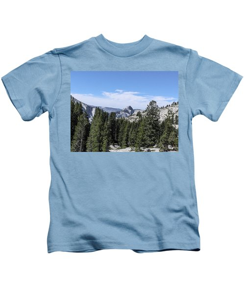 Half Dome From Olmstead Point Yosemite Valley Yosemite National Park Kids T-Shirt