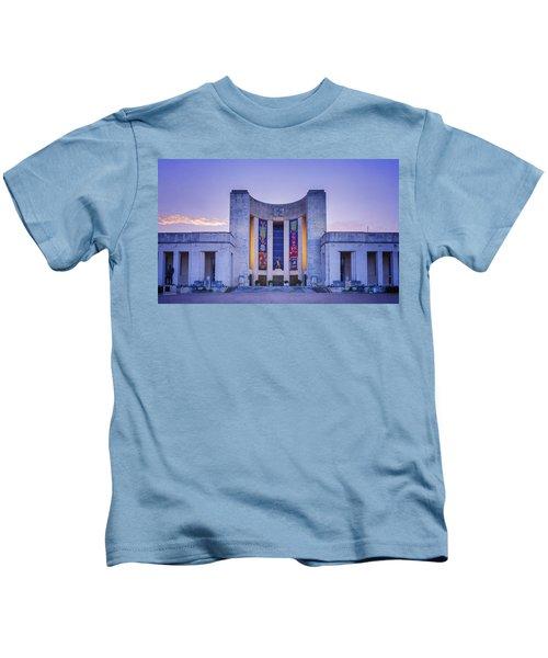 Hall Of State Texas Kids T-Shirt