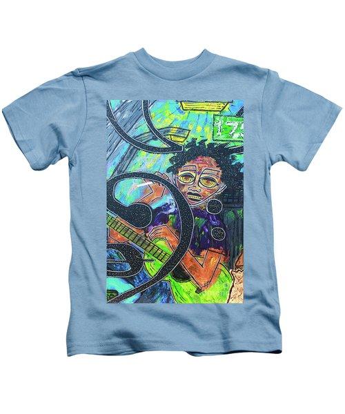 Hard Bass Nights Kids T-Shirt