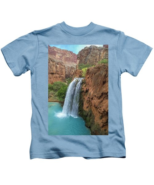 Havasu Falls Grand Canyon Kids T-Shirt