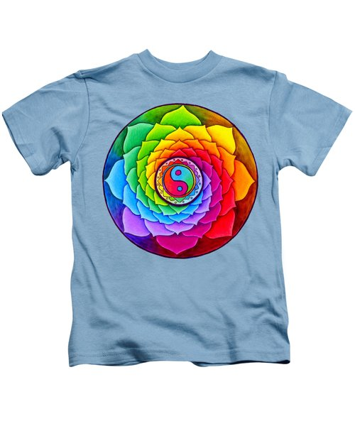 Healing Lotus Kids T-Shirt