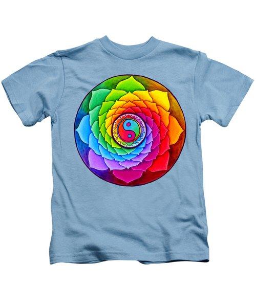 Healing Lotus Kids T-Shirt