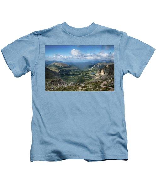 Helms Lake Valley 2 Kids T-Shirt