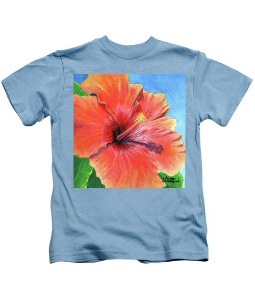 Hibiscus Passion Kids T-Shirt