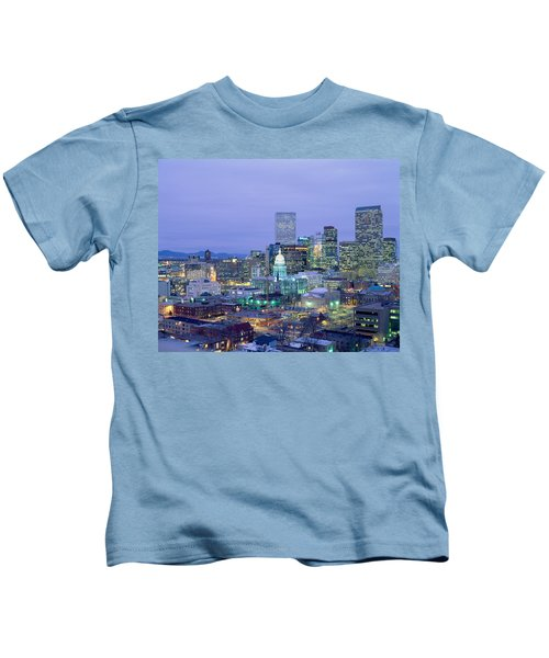 High Angle View Of The State Capitol Kids T-Shirt
