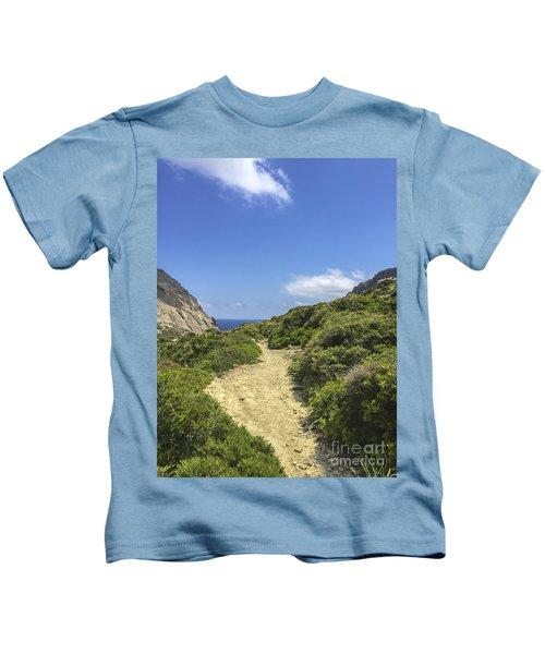 Hike To The Ocean Kids T-Shirt