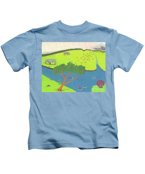Hippo Awareness Kids T-Shirt