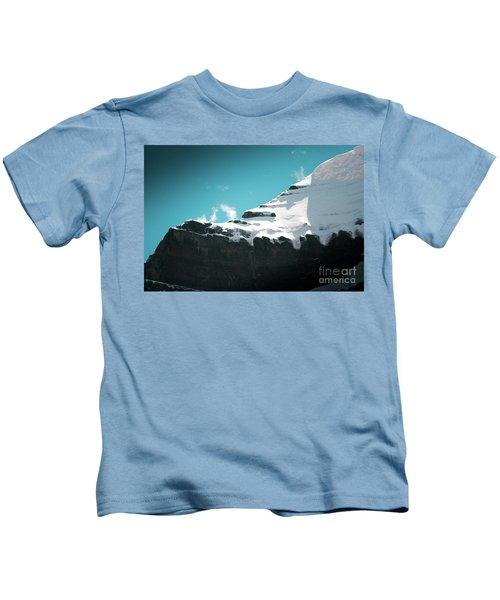 Holy Kailas Fragment Himalayas Tibet Yantra.lv Kids T-Shirt